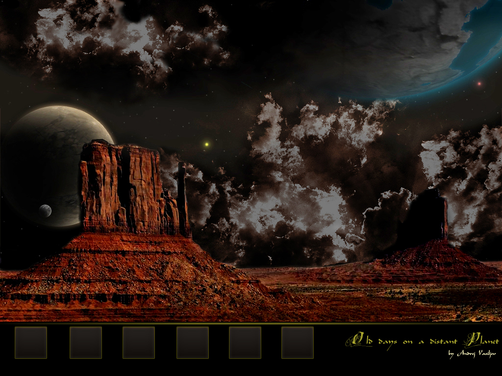 Distant Planet Wallpaper by QieT on DeviantArt