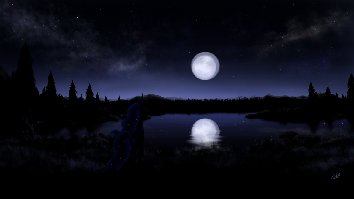 luna night by zlack3r