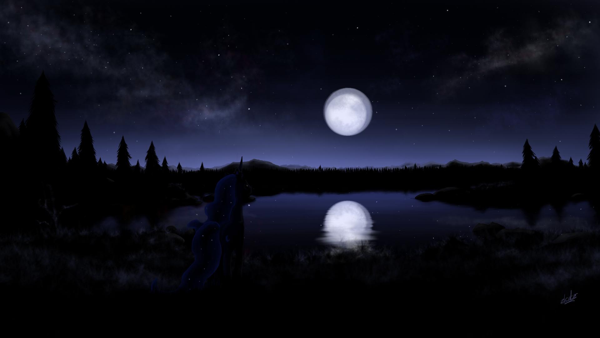 luna night by zlack3r