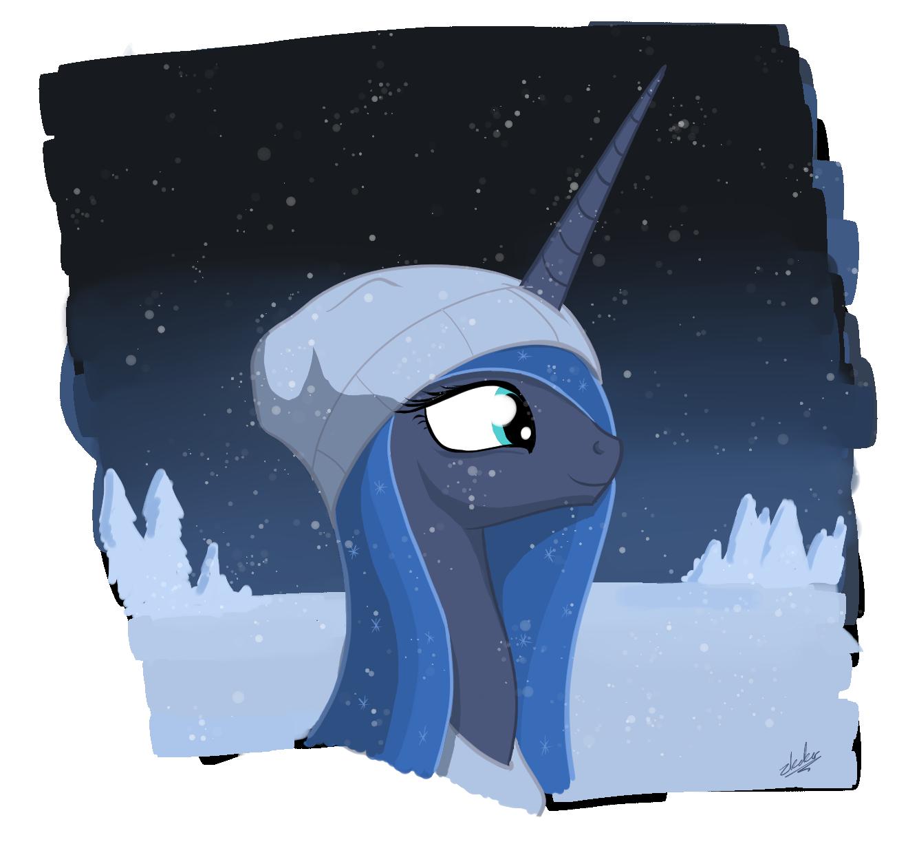 ink - winter luna