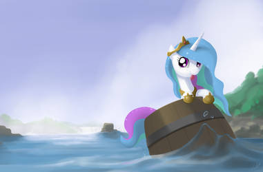 The barrel princess