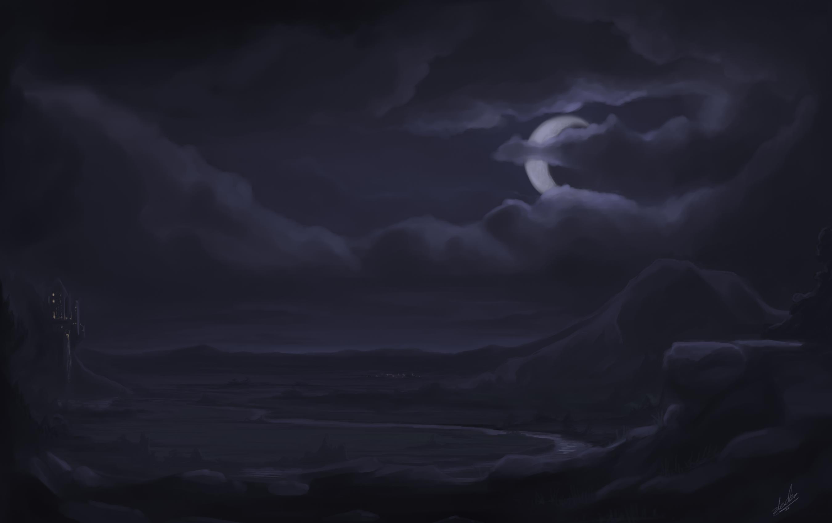 Practice - Generic Landscape by zlack3r