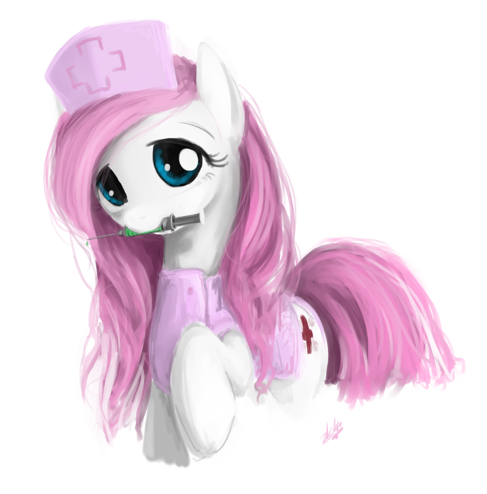 Nurse Redheart by zlack3r