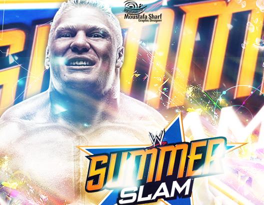 Brock Lesnar Summer Slam 2013 by DARSHSASALOVE