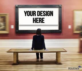 Gallery Mockup - Free Download by DARSHSASALOVE
