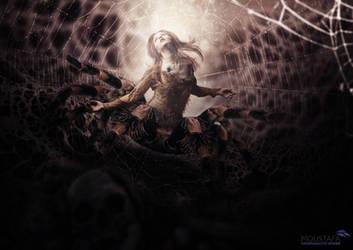 Spider Queen ! by DARSHSASALOVE