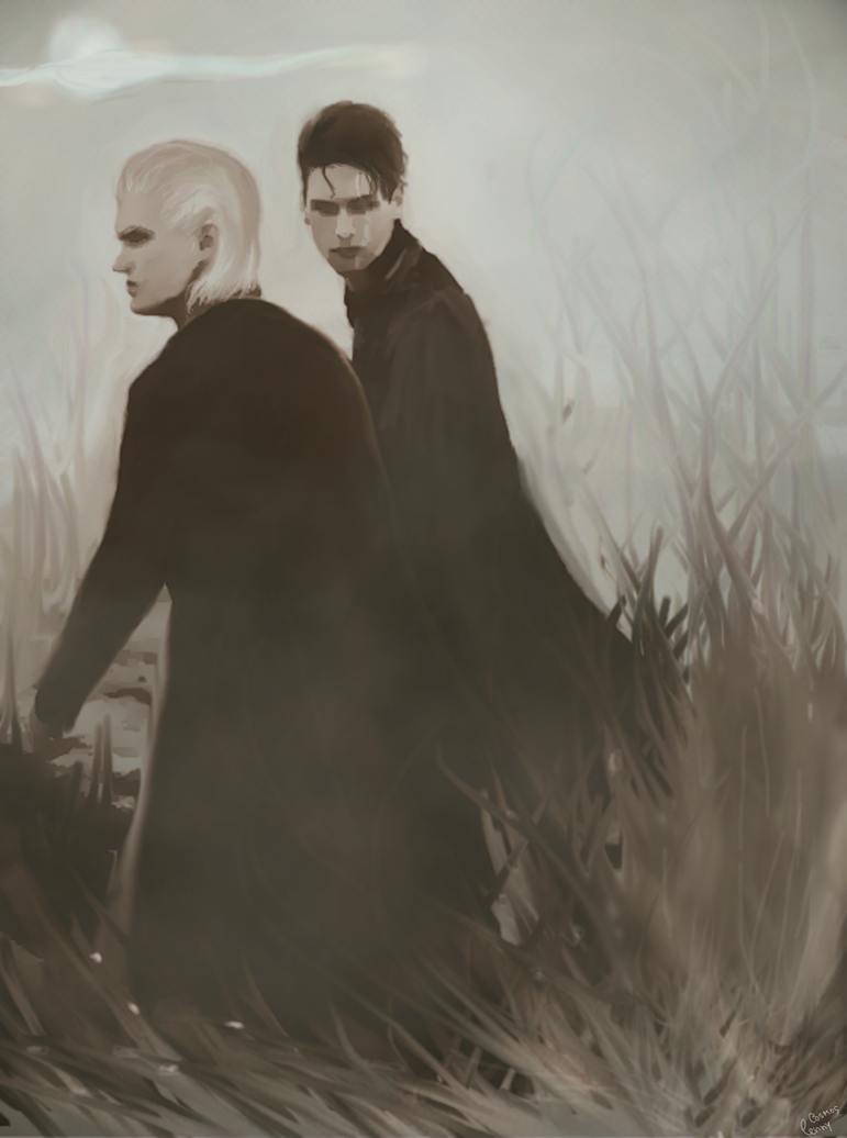 Draco and Theodore by lennycosmos on DeviantArt Theodore Nott Actor