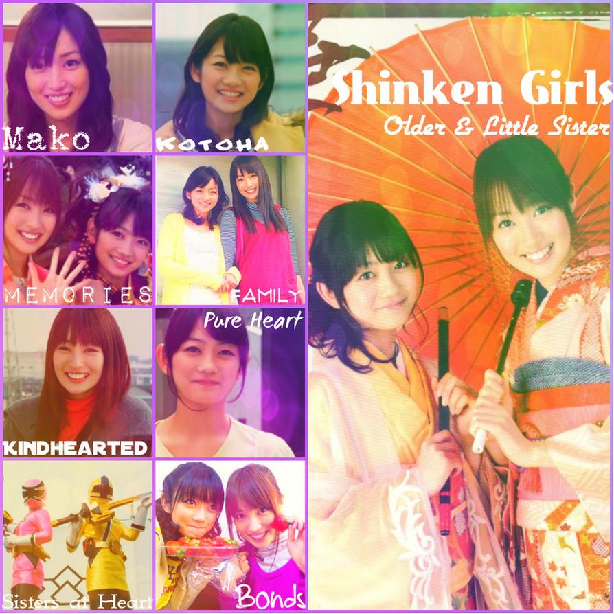 Mako and Kotoha ll Shinken Girls by Holwoodarts on DeviantArt
