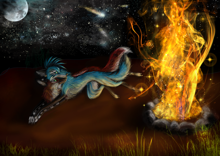 Love By Firelight by Kinky-Slingy