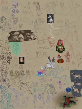 Digital Sketch Dump 5 2019