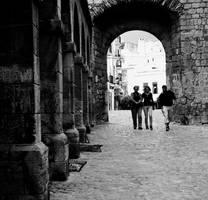 the streets of Eivissa.. by RickHaigh