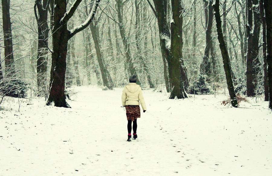 Lost in the snow by RickHaigh