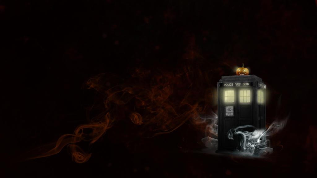 Halloween TARDIS wallpaper by AerindarkwaterTardis Art Wallpaper