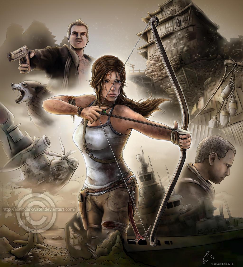 Tomb Raider 2013 Wallpaper: Tomb Raider Reborn By Aerindarkwater On DeviantArt