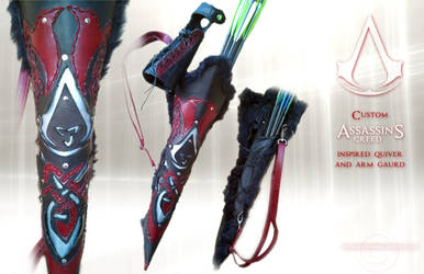 Custom Assassin's Creed inspired quiver set