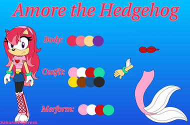 Amore the Hedgehog Reference 2014