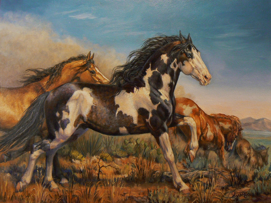Mustangs - On the Run by KerryOriginals on DeviantArt