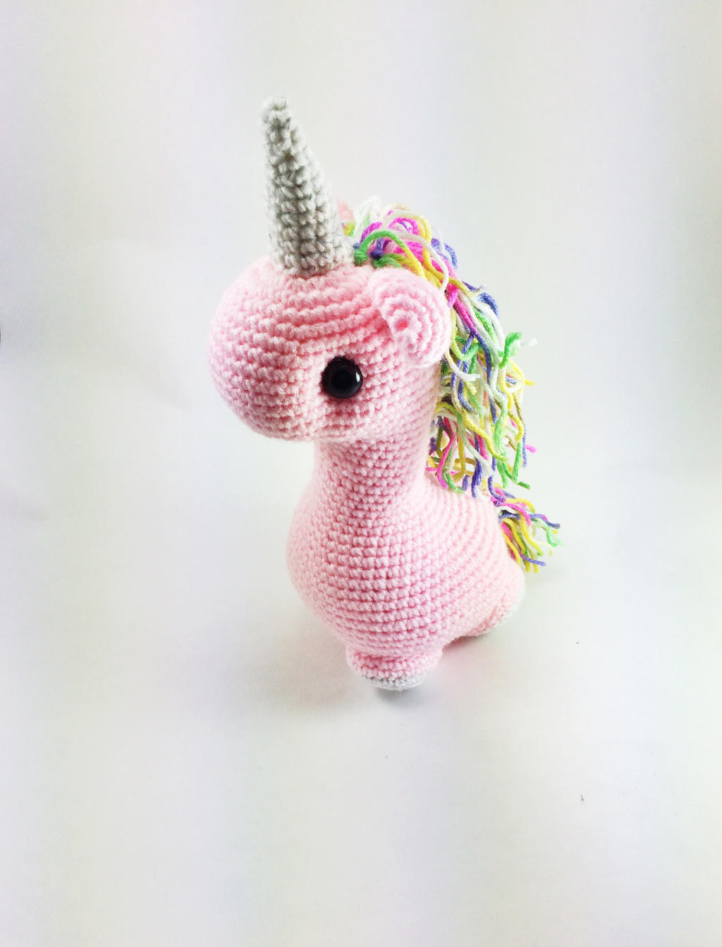 Unicorn Amigurumi Yarn Yard : Custom Unicorn Amigurumi by cyellow on DeviantArt