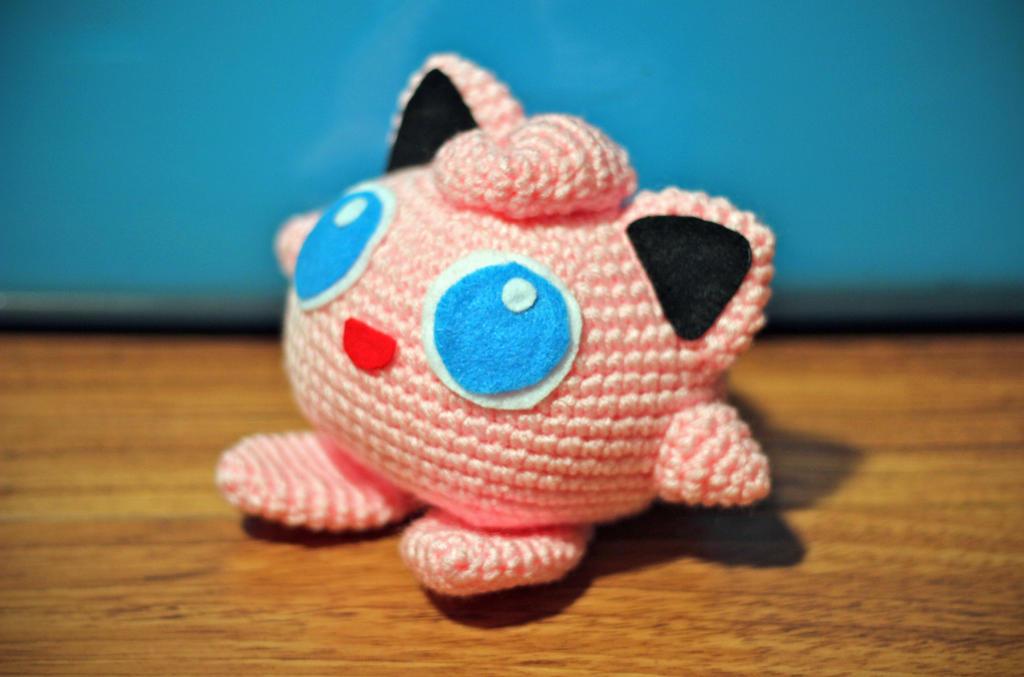 Pokémon Jigglypuff em Amigurumi no Elo7 | Tudo de Crochê (11640D4) | 677x1024
