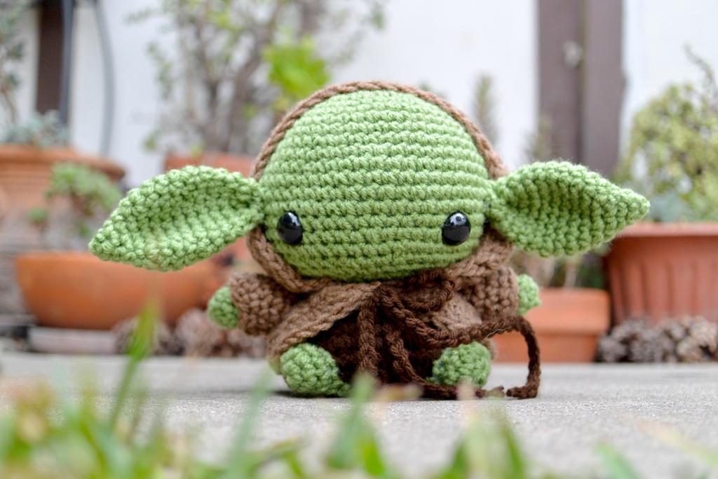 Yoda Amigurumi by cyellow on DeviantArt