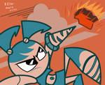 Jenny vs meteorite