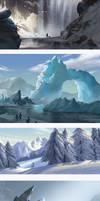 study of glacier
