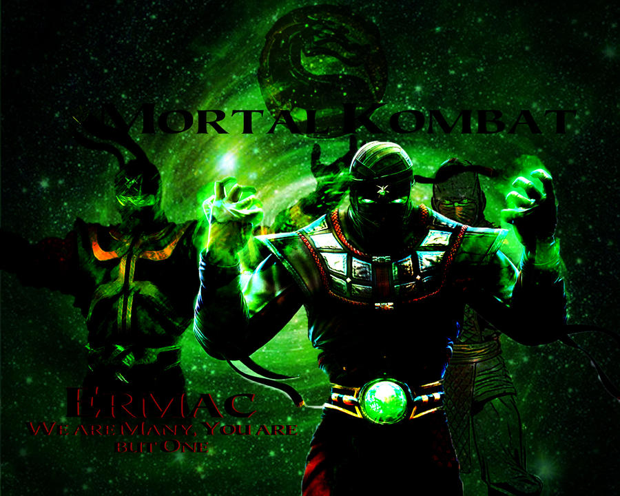 mk9 ermac wallpaper by reaperthecreeper on deviantart