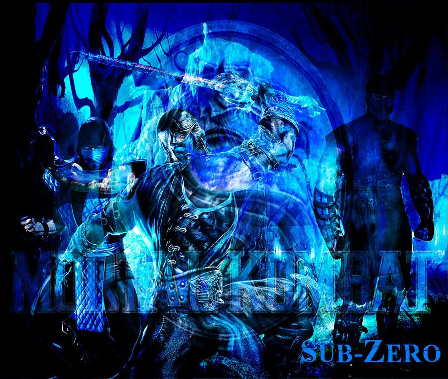 MK9 Sub-Zero Wallpaper V2 by Reaper-The-Creeper ...