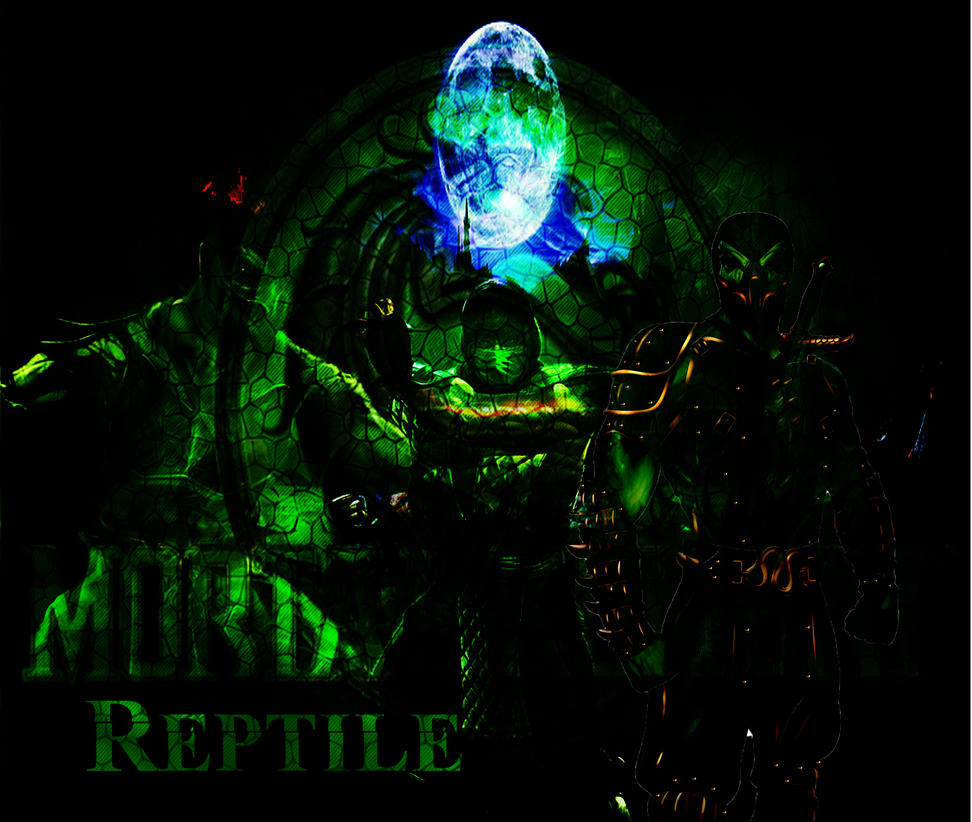 mk9 reptile wallpaper v3reaper-the-creeper on deviantart