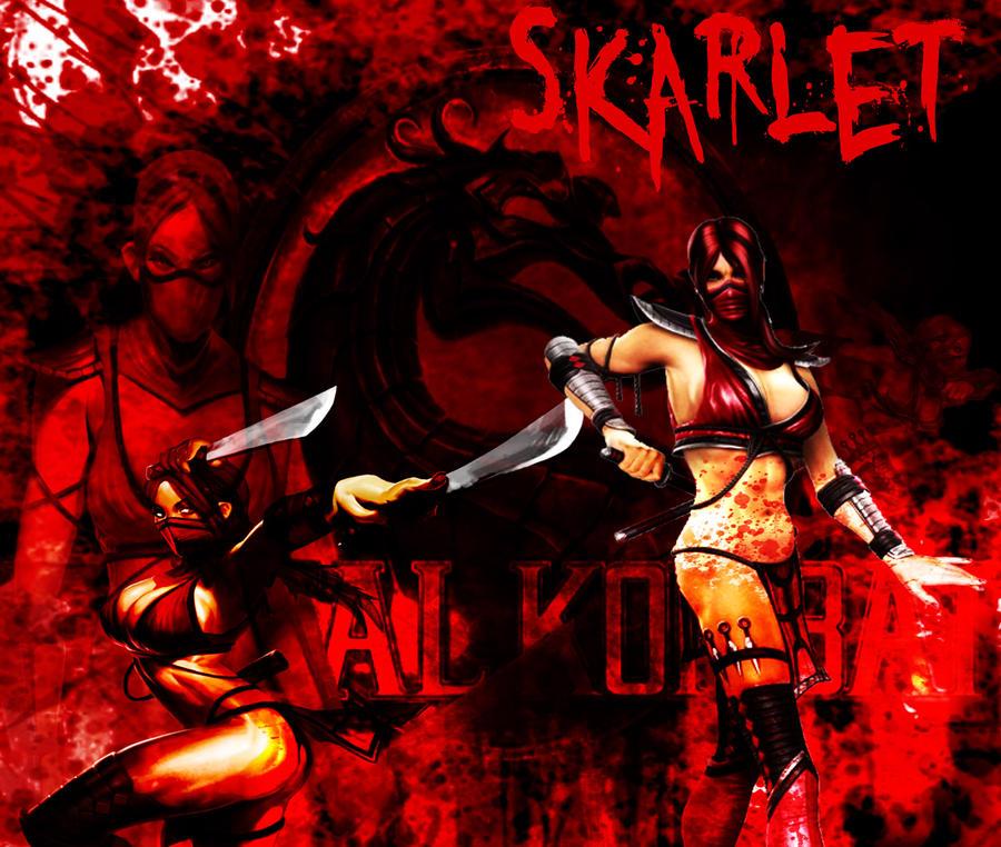MK9 Skarlet Wallpaper by Reaper-The-Creeper on DeviantArt