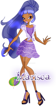 Miss Blackberry / Marisca City Girl Outfit