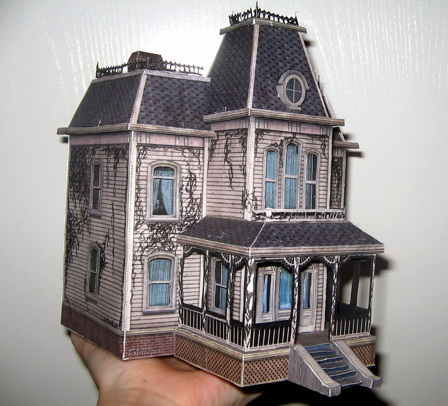 Spooky House Paper Craft