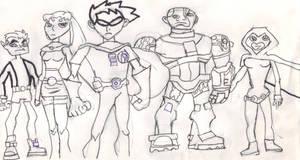 Teen Titans Asemble