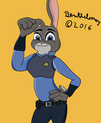 Judy Hopps by Ben-the-looney
