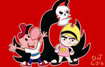 Billy, Mandy, and Grim
