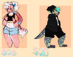 Random adopts(OPEN) by EmbroiledStrings