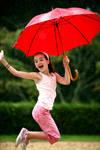 Jump, jump, jump in the rain