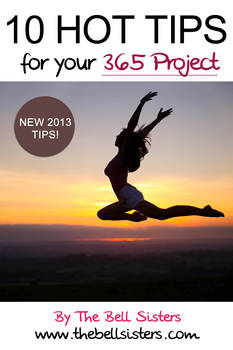 10 Hot Tips for YOUR 365 Project FREE EBOOK
