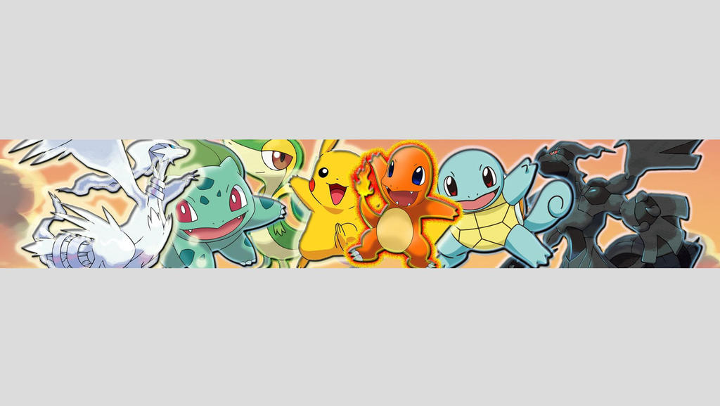 Pokemon One Channel Art by TailsinWonderlandYoutube Channel Art 2560x1440 Anime