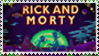 Rick and Morty Stamp~ by HomestuckObsessed