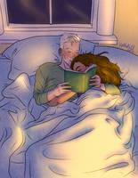 Asleep by upthehillart