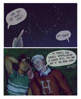 Stargazing by upthehillart