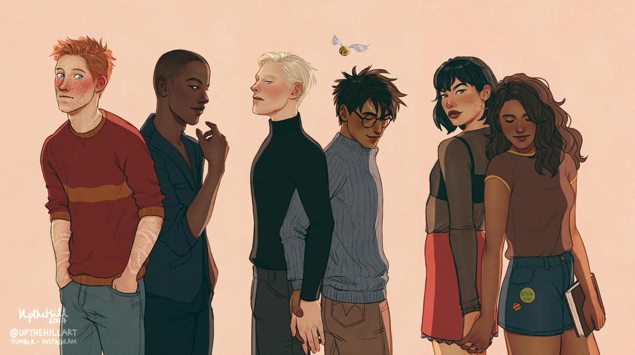 Gryffindor x Slytherin