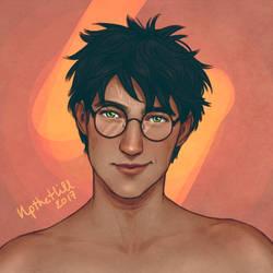 Harry by upthehillart