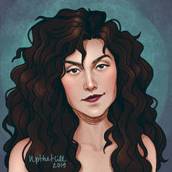 Bellatrix by upthehillart
