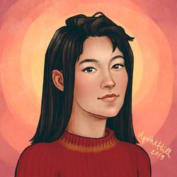 Katie by upthehillart