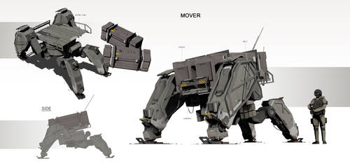 181028 mech Mover by daviechang24