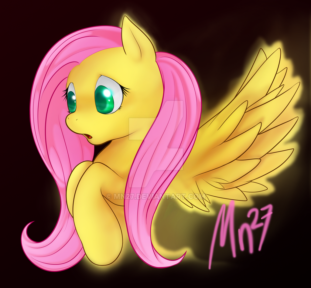 mlp: Fluttershy by Mn27