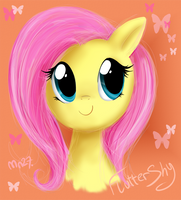 FlutterShy by Mn27