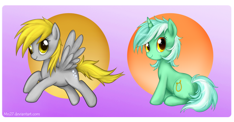 2 Ponies by Mn27